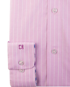 Double Two Pink Formal Shirt K