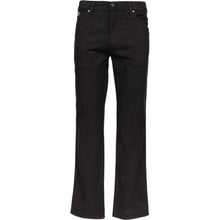 Load image into Gallery viewer, Wrangler Texas Black Straight Leg Jeans K