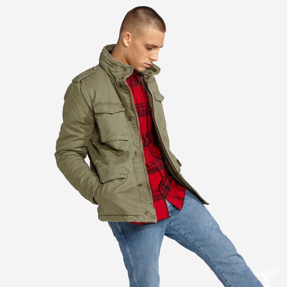 Wrangler 3/4 Length Field Jacket R