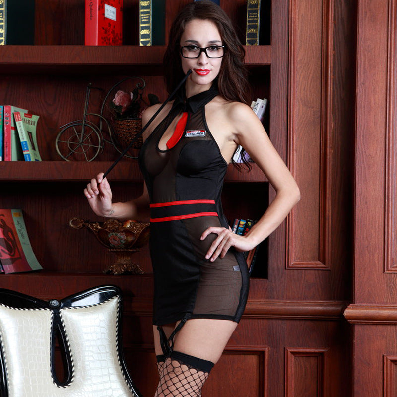 New sexy lingerie sexy teacher role-playing clothing