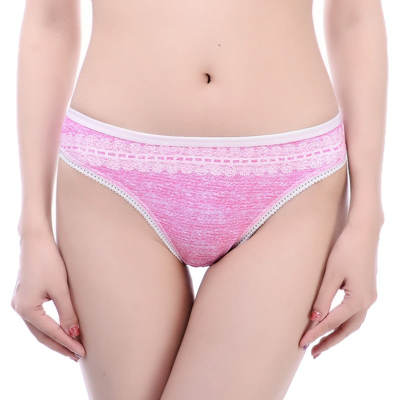 Cotton Thong Women's Underwear for American Size