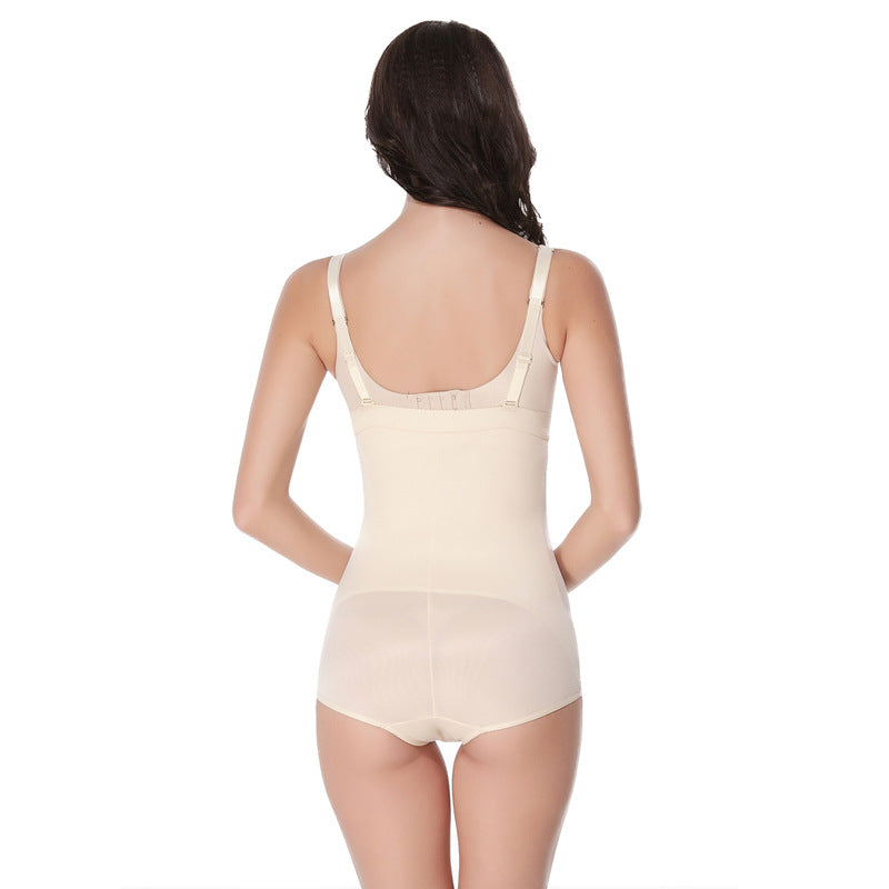 Women's sexy body shaping body clothes hips abdomen waist tight bodysuit body shaping underwear two colors