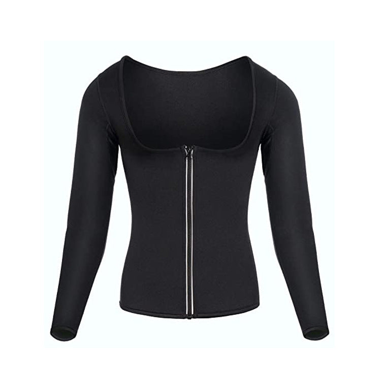 Seamless fitness clothes yoga clothes sweat clothes women running sports sweat shaping clothes
