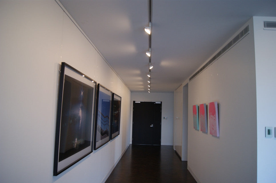 Picture Rails Systems apartment installation