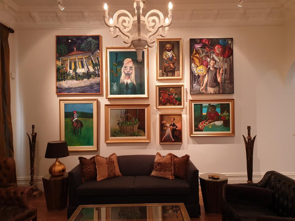 Image of a home gallery