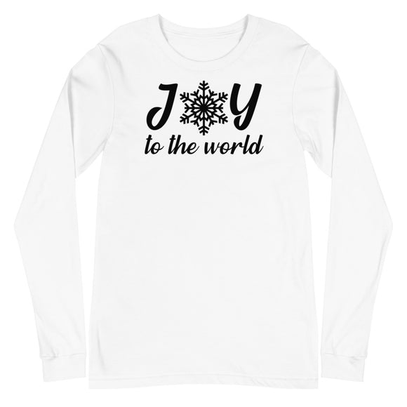 'Joy to the World' Long Sleeve Tee