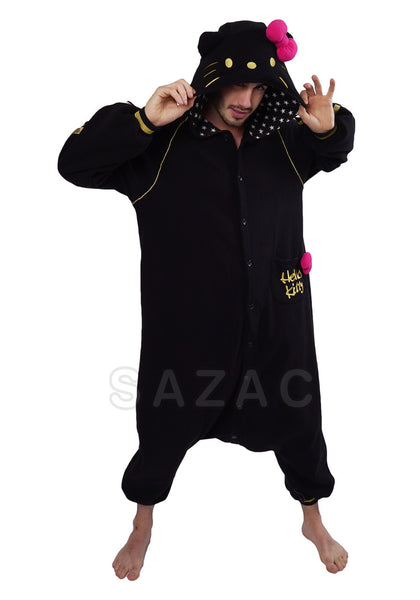Hello Kitty™ Eternal Zwart Kigurumi
