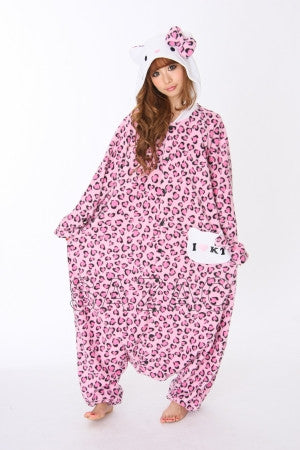 Hello Kitty™ Panter Roze Kigurumi