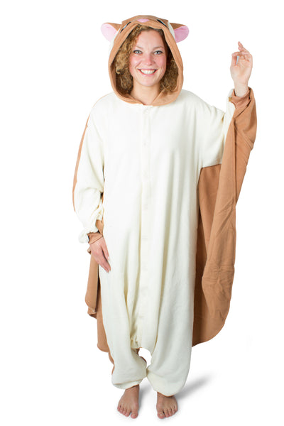 vliegende eekhoorn flying squirrel onesie kigurumi 1