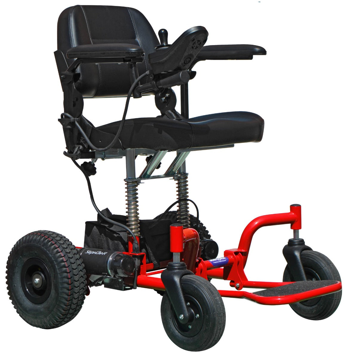 New SupaChair Safari Sport Lightweight Transportable Powerchair with Suspension
