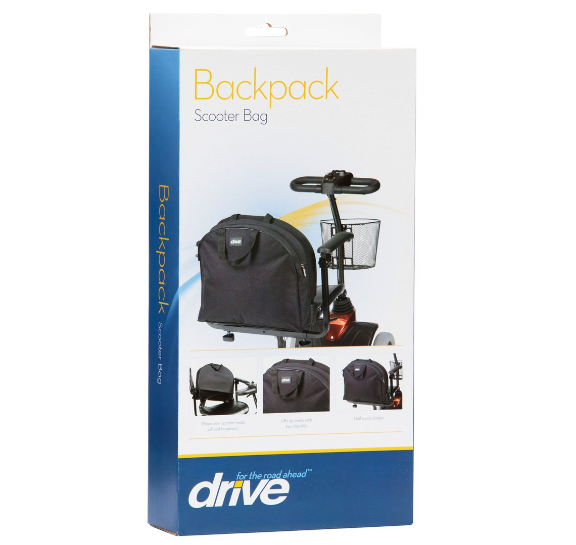 Drive Medical Back Pack Scooter Bag Drop Over Mobility Scooter Bag