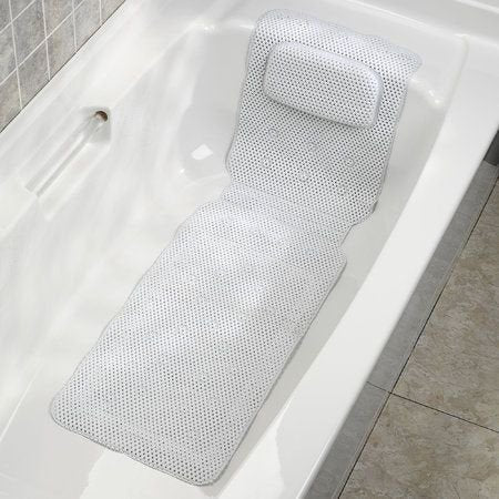 Cushioned Bath Mat With Pillow