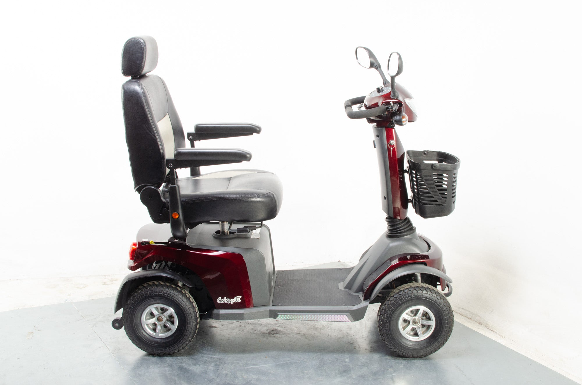 VanOs Galaxy II Large Comfy 8mph Electric Mobility Scooter