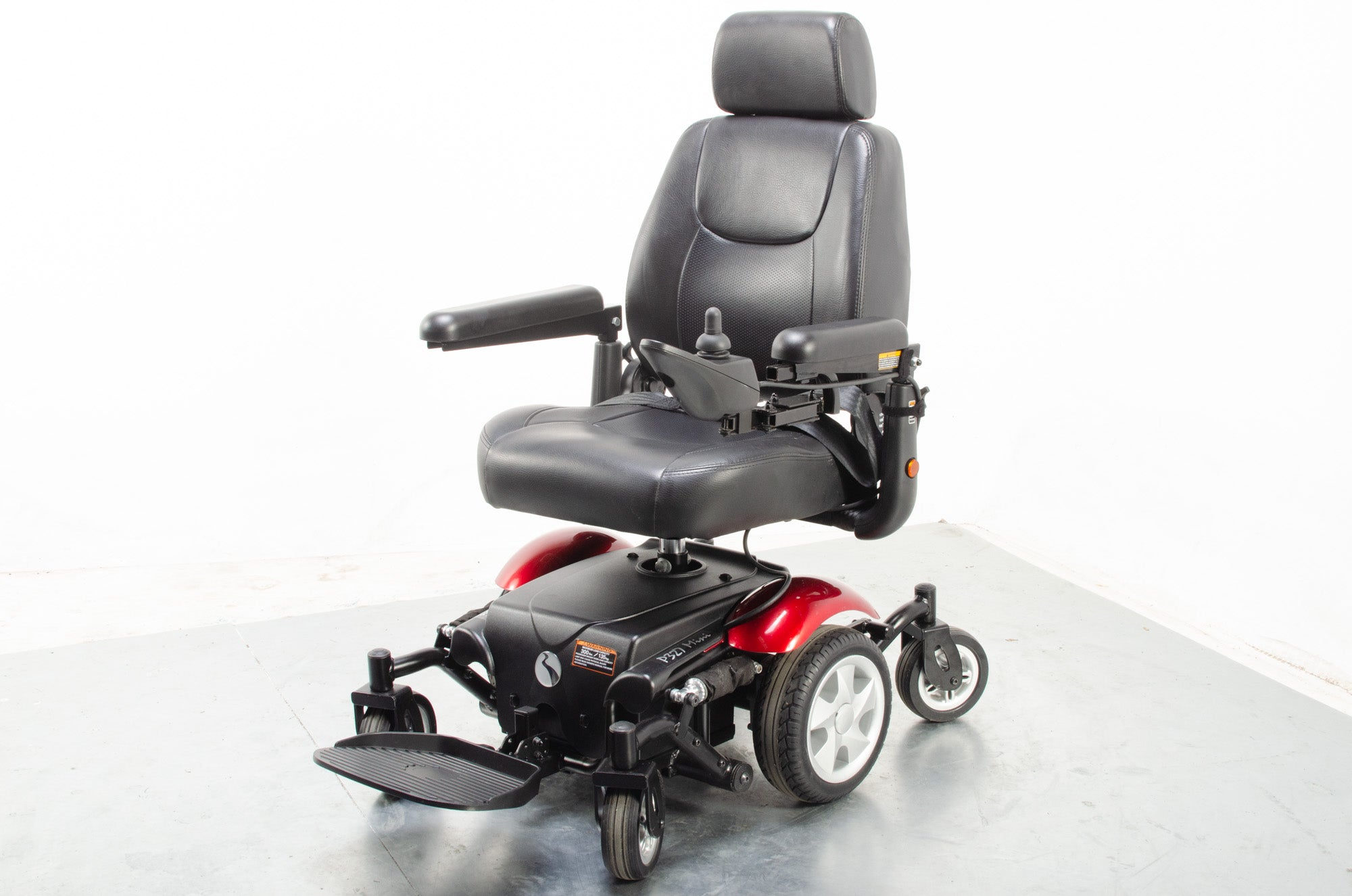 Rascal P327 Mini Electric Mobility Wheelchair Powerchair Indoor Outdoor Red
