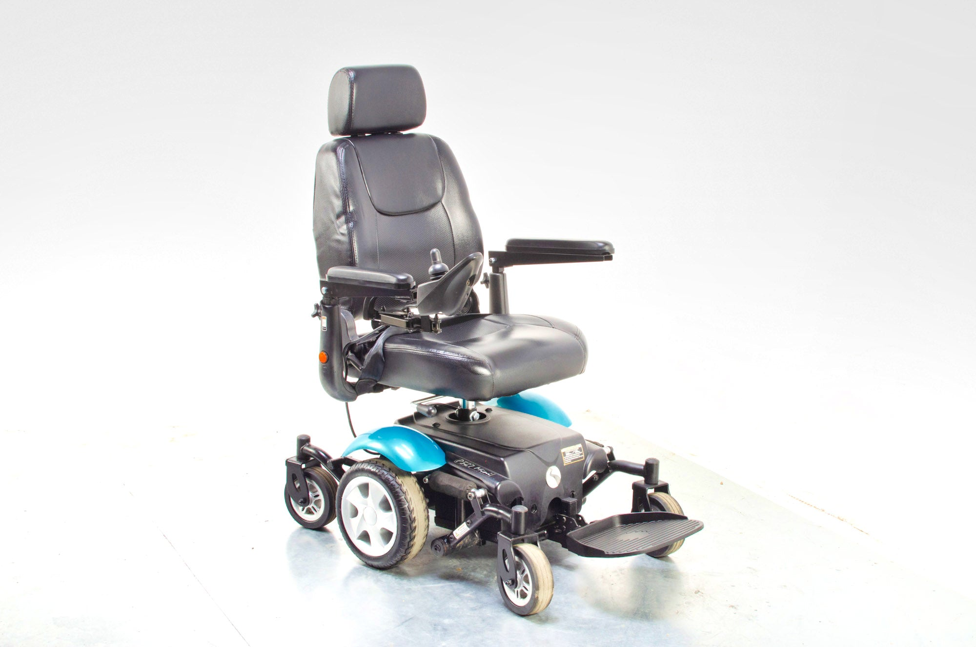 Rascal P327 Mini Electric Mobility Wheelchair Powerchair Indoor Outdoor Teal