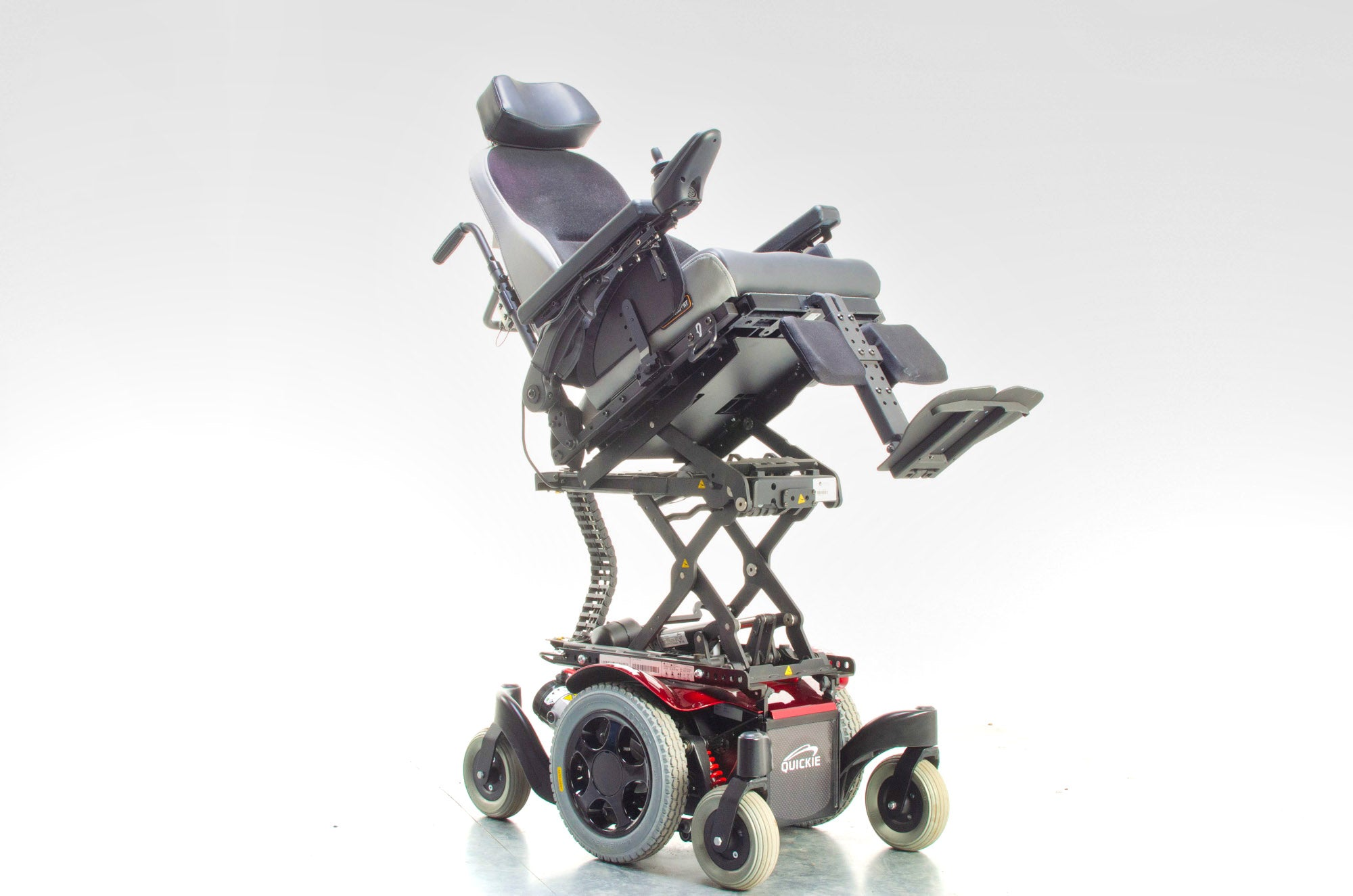 Quickie Salsa M2 Mini Electric Wheelchair Powerchair Riser Tilt