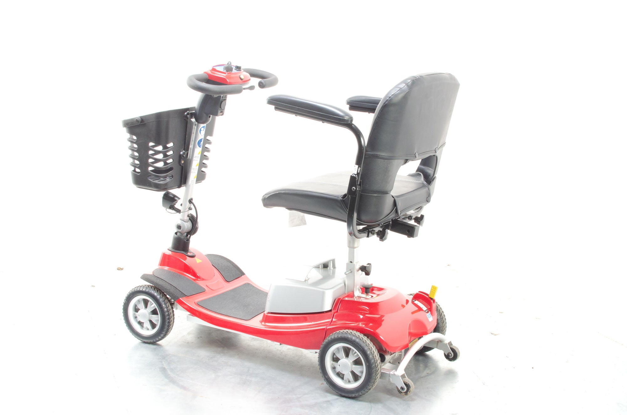 One Rehab Illusion 4mph Ultra Lightweight Aluminium Mobility Boot Scooter with Suspension