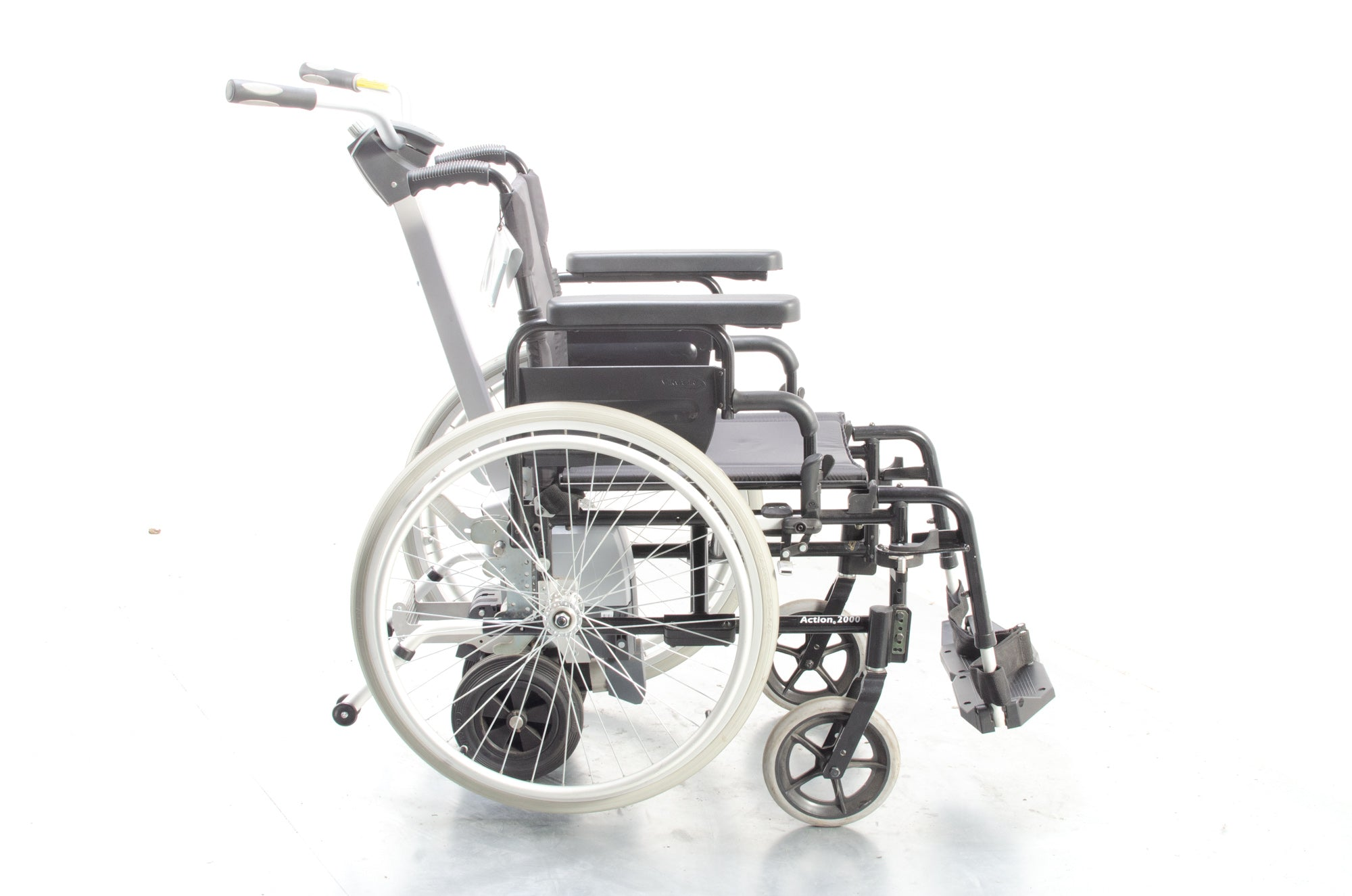 Alber Viamobil Eco V14 Attendant Wheelchair Power Pack from Invacare with Action 2000