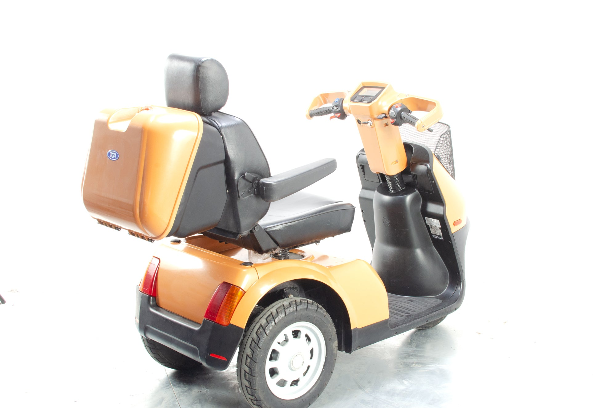 TGA Breeze S3 Large Electric Mobility Trike Scooter Orange