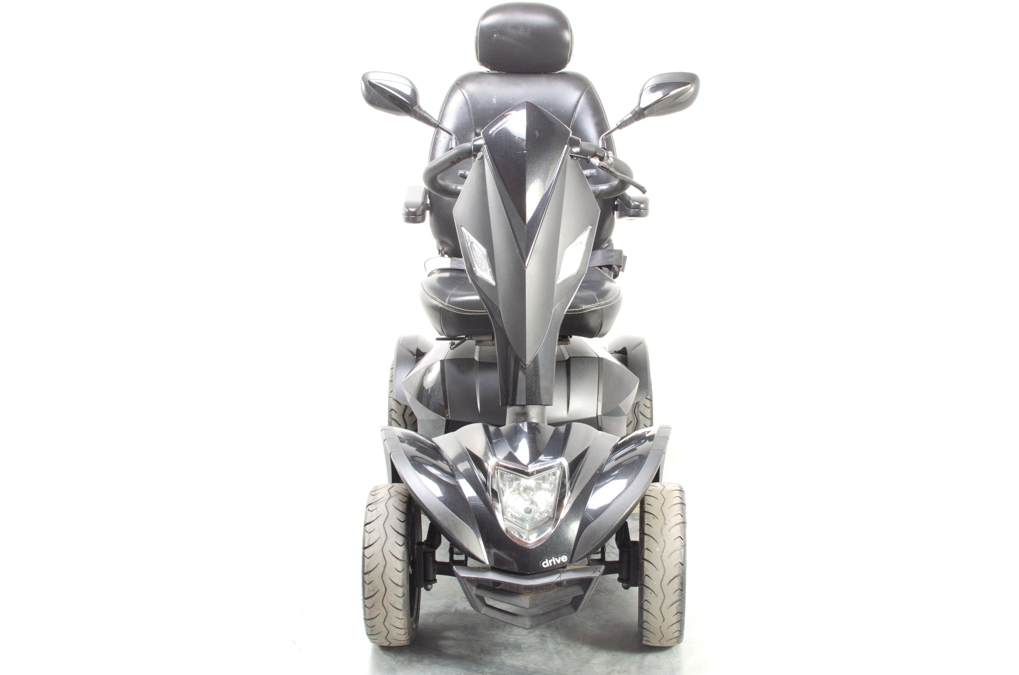 Drive Cobra Large All-Terrain Mobility Scooter 8mph Used Black
