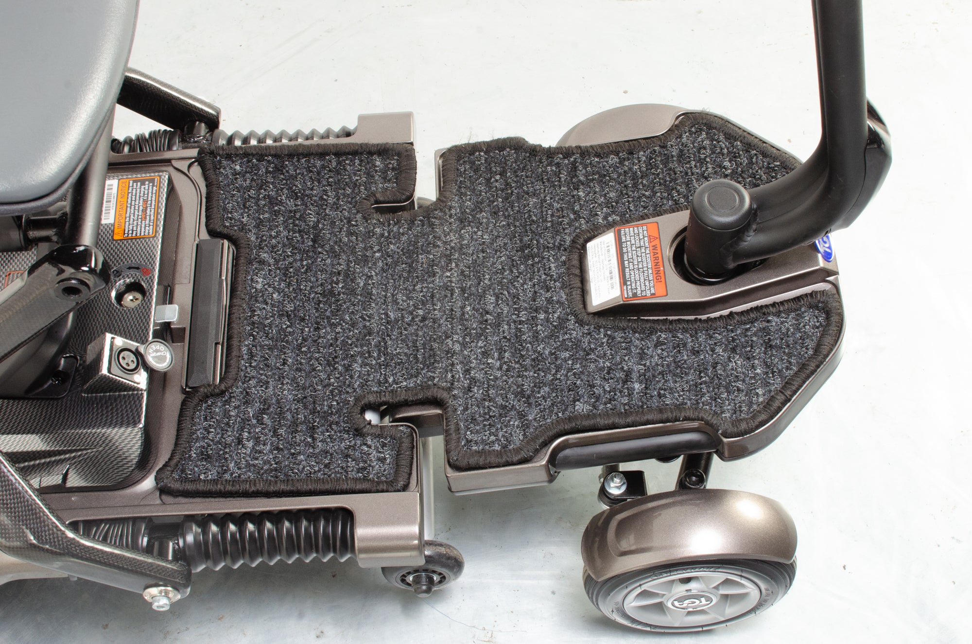 TGA Minimo Plus 4 Used Mobility Scooter Folding Travel Small Lithium Boot