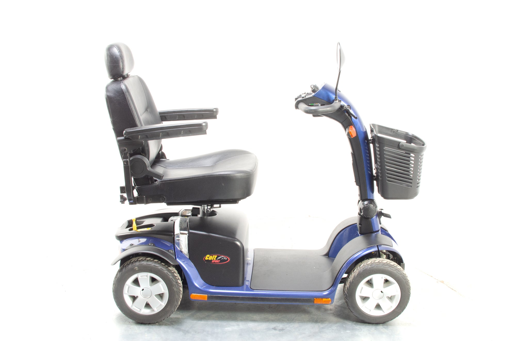 Pride Colt Sport Electric Mobility Scooter 8mph Used Transportable Road Pavement