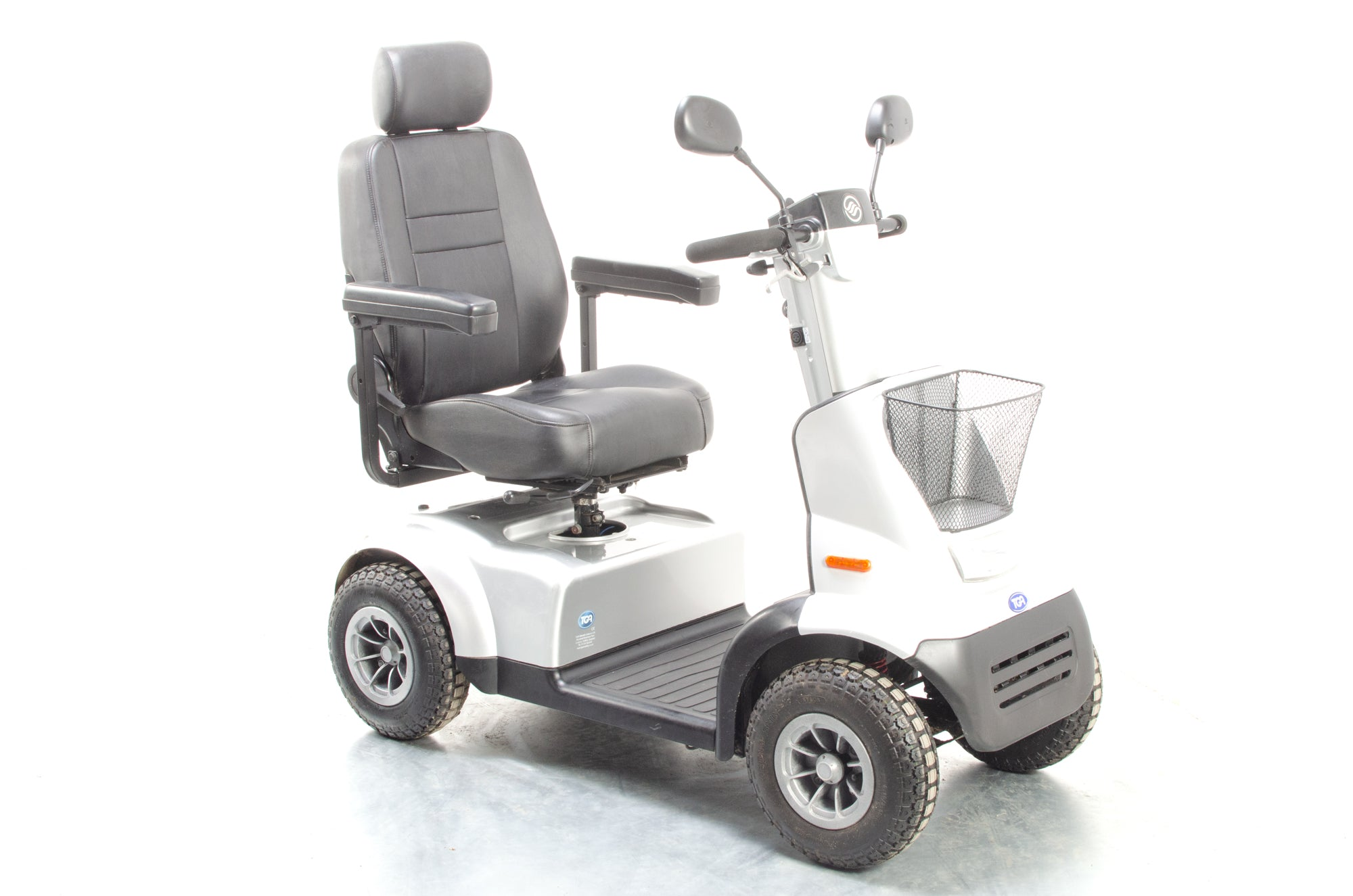 TGA Breeze Midi 4 Used Electric Mobility Scooter 8mph Road Pavement Suspension All-Terrain