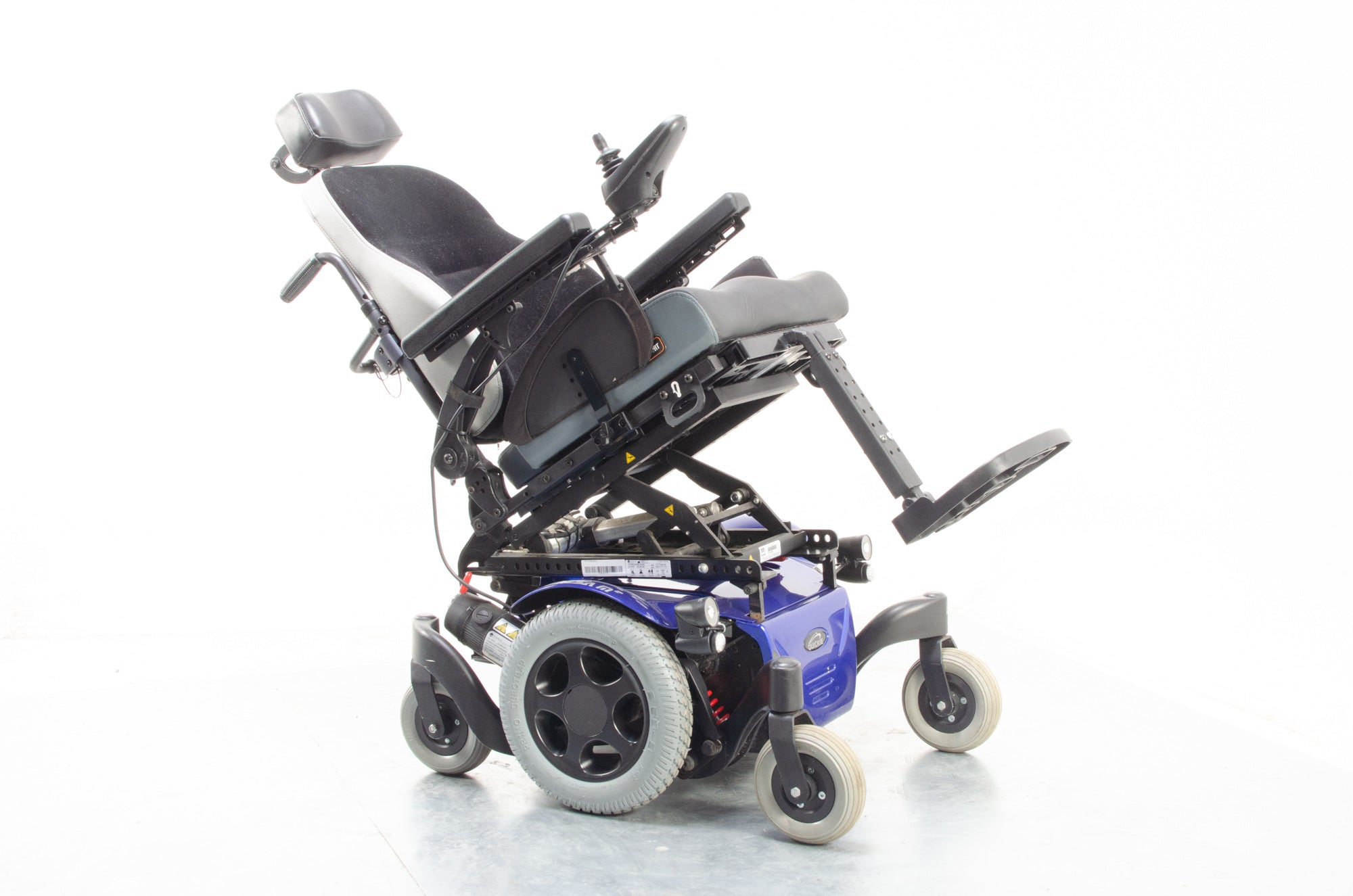 Quickie Salsa M2 6mph Used Electric Wheelchair Powerchair Power Tilt Sunrise Medical MWD Outdoor