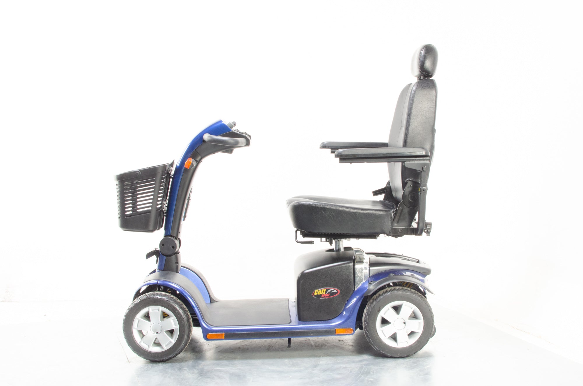 Pride Colt Sport Used Electric Mobility Scooter 8mph Transportable Road Pavement Suspension Solid Tyres