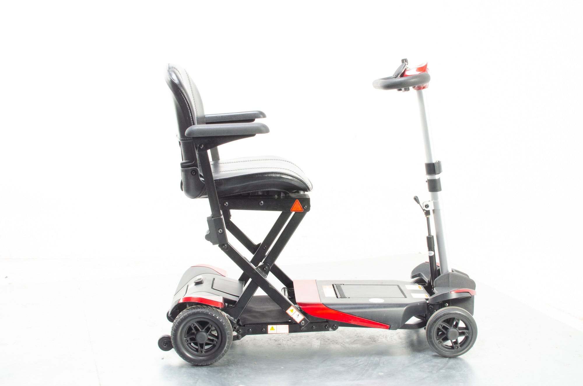 Monarch Smarti Remote Automatic Folding Used Mobility Scooter Lithium Travel