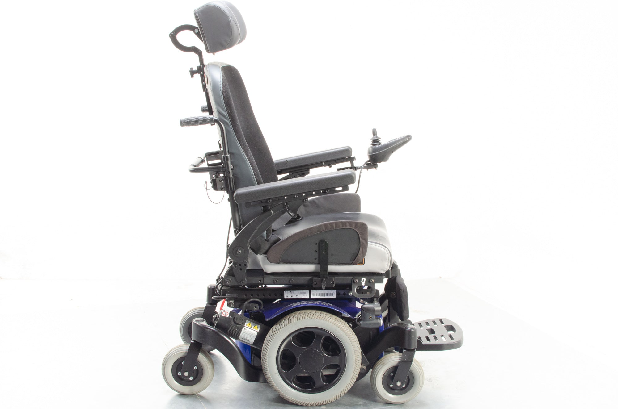 Quickie Salsa M2 Used Electric Wheelchair Powerchair Tilt Sunrise Medical Class 3