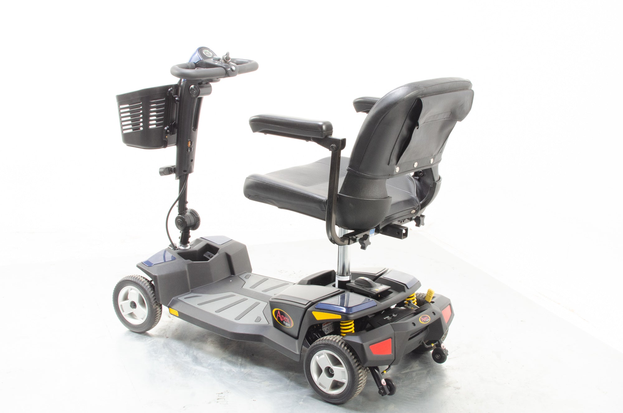 Pride Apex Rapid Used Electric Mobility Scooter Small Transportable Suspension Boot Portable