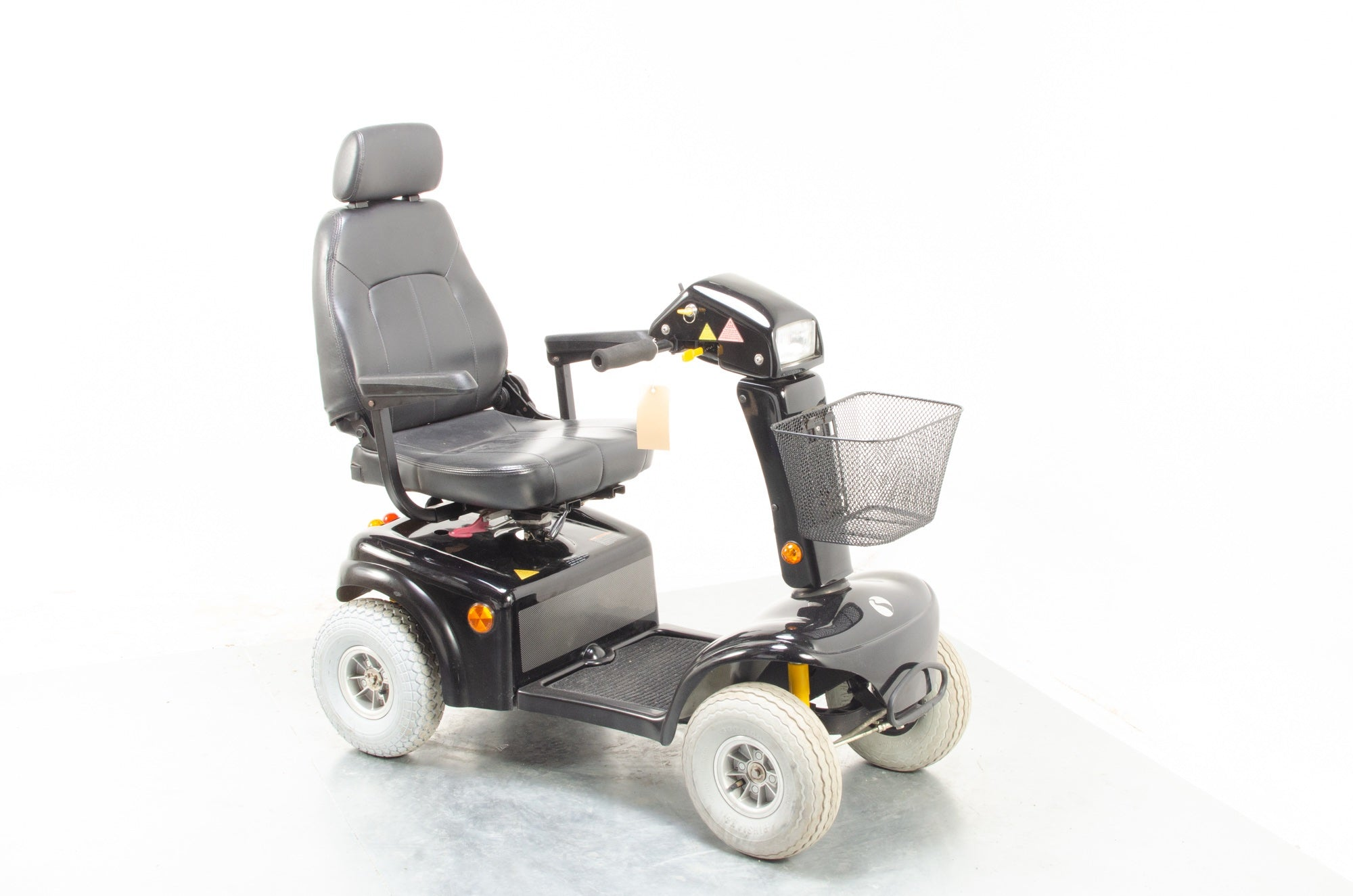 Rascal 850 Used Electric Mobility Scooter 8mph All-Terrain Pavement Suspension Pneumatic