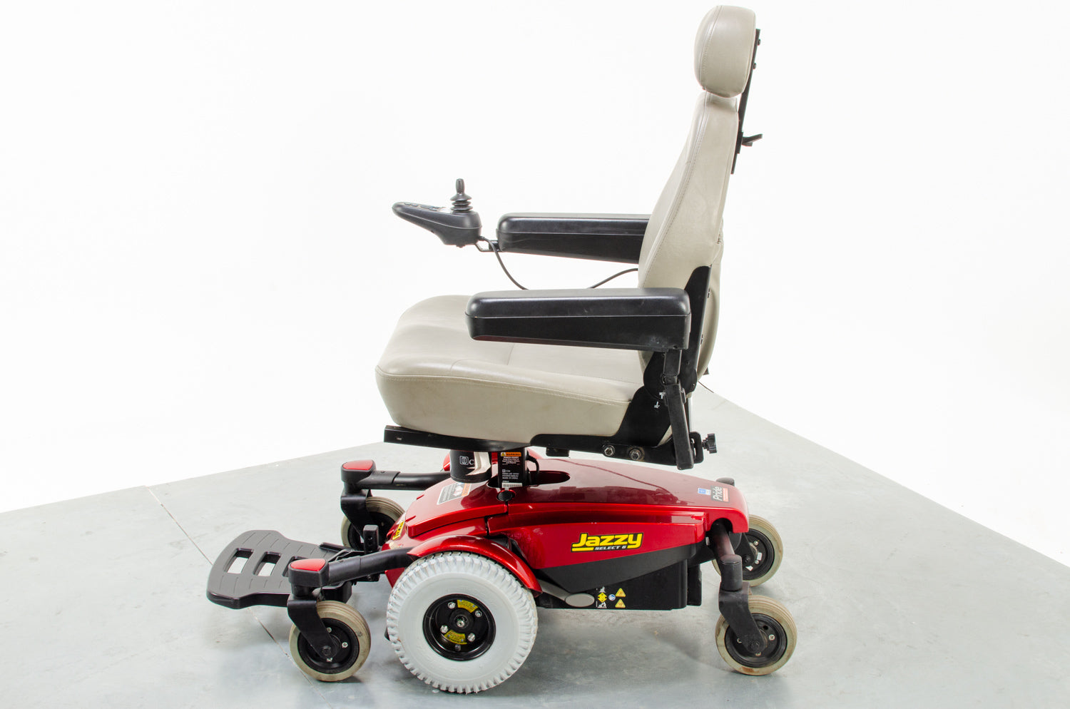 Pride Jazzy Select 6 Used Electric Wheelchair Powerchair Indoor Outdoor MWD
