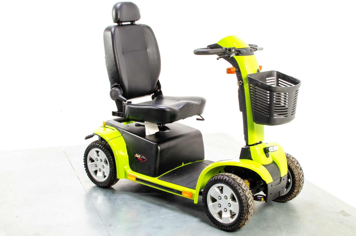 Pride Colt Pursuit 8mph Large All Terrain Transportable Mobility Scooter