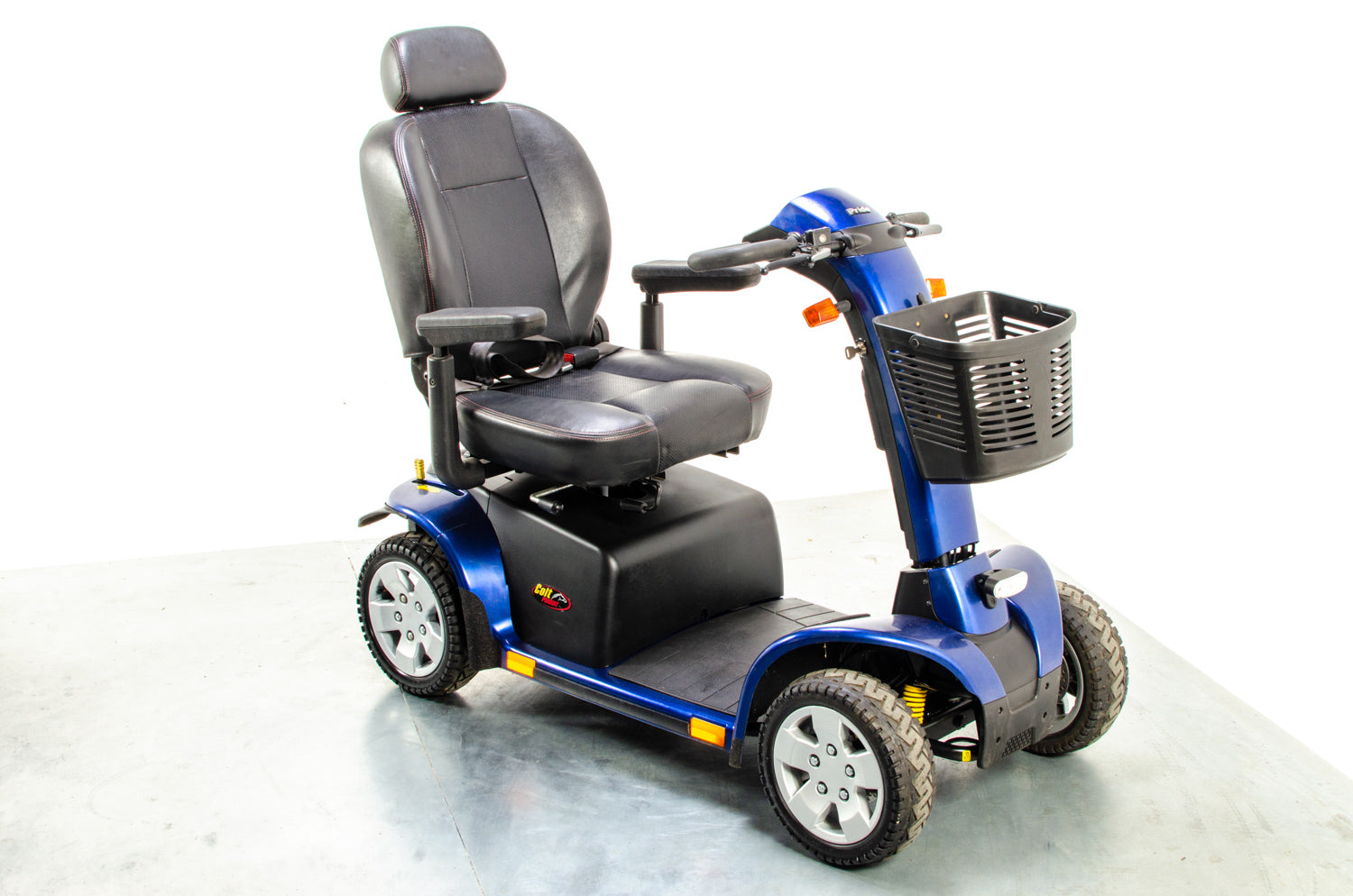 Pride Colt Pursuit Used Mobility Scooter 8mph Large All-Terrain Transportable