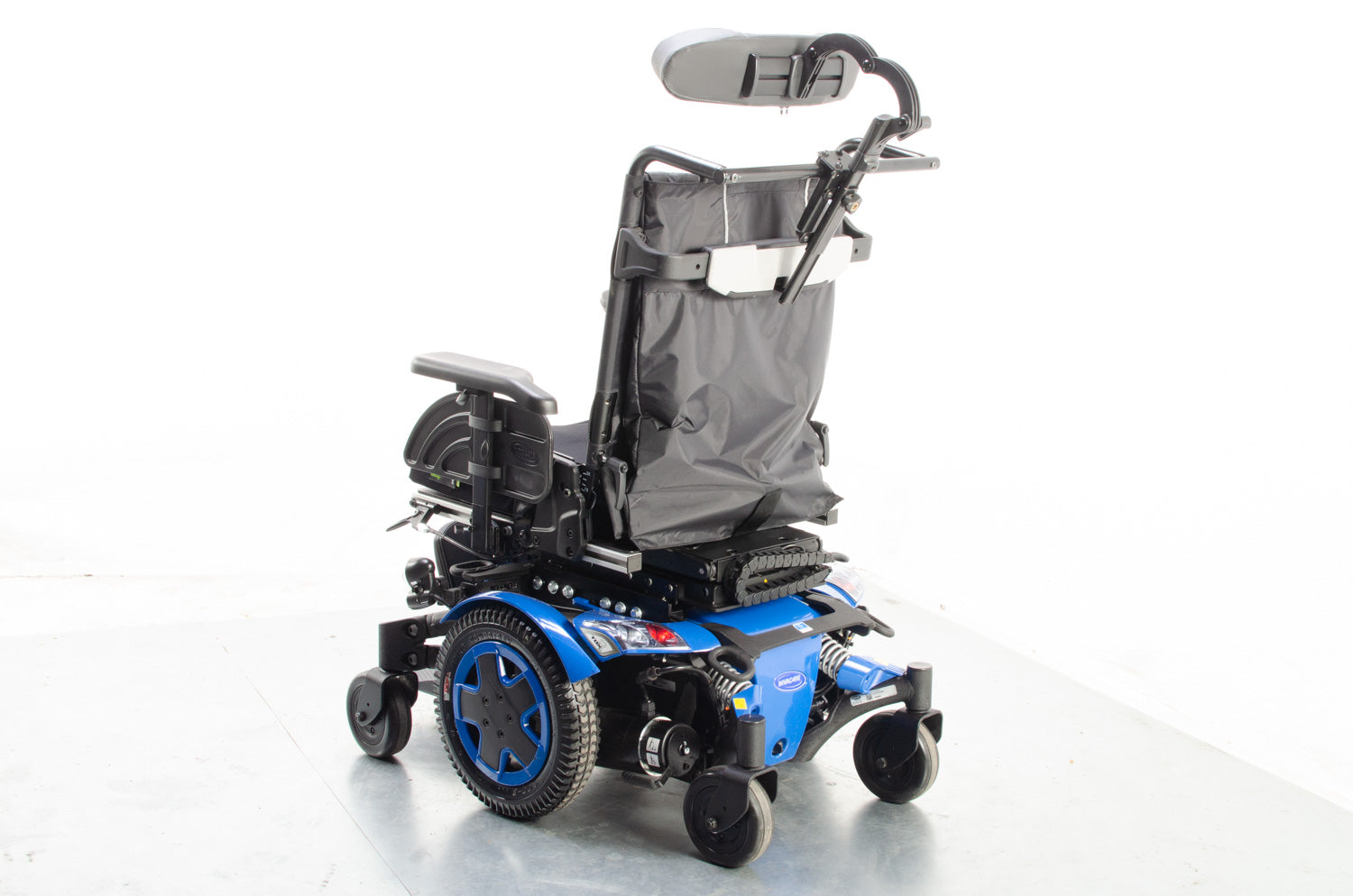 2017 Invacare TDX SP2 Powerchair with Electric Raiser Tilt Leg 6mph in Blue