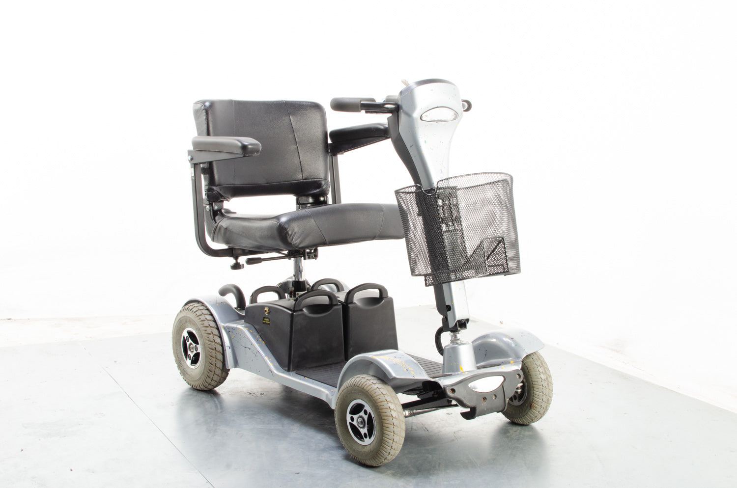 2014 Sterling Sapphire 2 4mph Mobility Boot Scooter Custom Grey Sunrise Medical