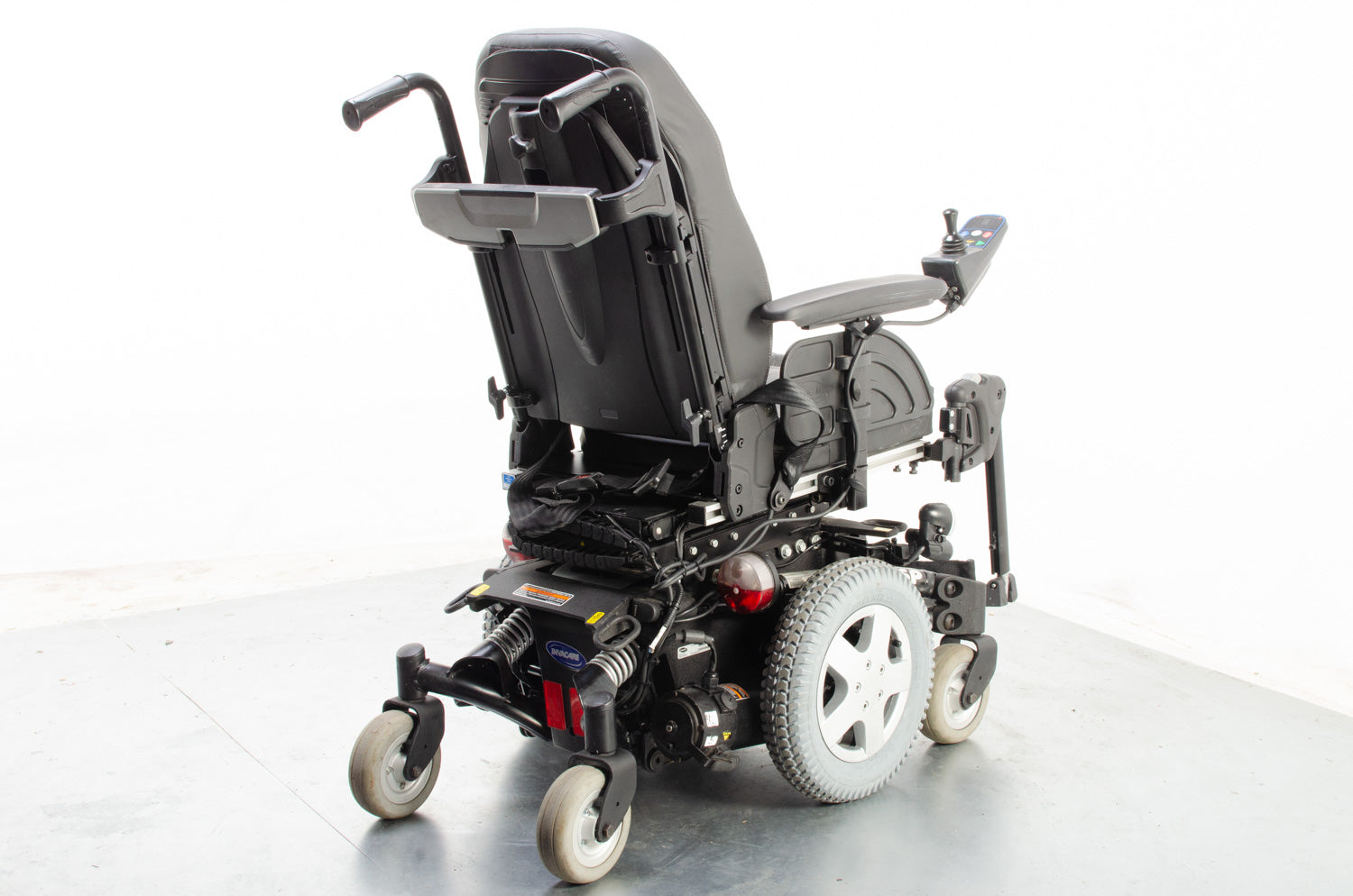 2014 Invacare TDX SP 4mph Powerchair Electric Wheelchair Black 16""