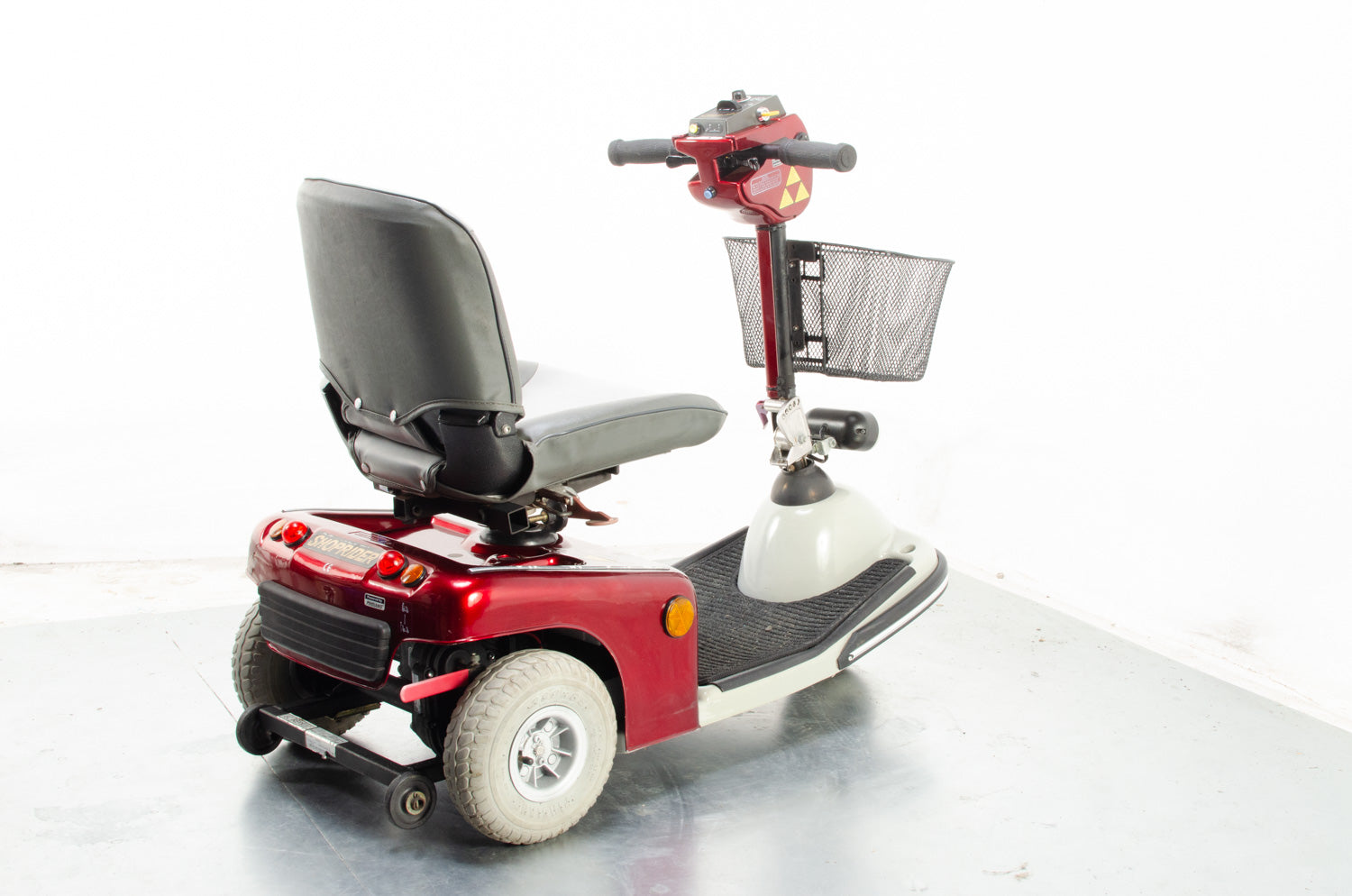 2015 Roma Shoprider Sovereign 3 4mph Mid Size 3 Wheel Trike Mobility Scooter