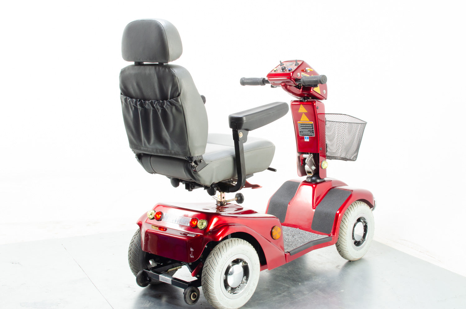 2014 Rascal 388XL 6mph Mid Size Comfort Electric Mobility Scooter in Red