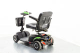 2016 TGA Zest Plus 4mph Transportable Mobility Boot Scooter with Pneumatic Tyres Green