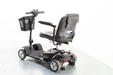2017 Pride Apex Lite 4mph Small Transportable Mobility Scooter in Black