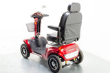 2015 Shoprider Cordoba Electric Mobility Scooter Used Second Hand Roma 8mph Large Red