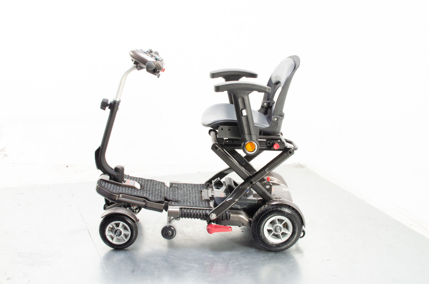 2018 TGA Minimo Plus 4 Compact Folding 4mph Mobility Scooter in Bronze