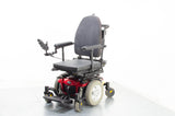 2015 Pride Quantum Q6 Edge Electric Wheelchair Powerchair Power Tilt Recline 4mph Used Red