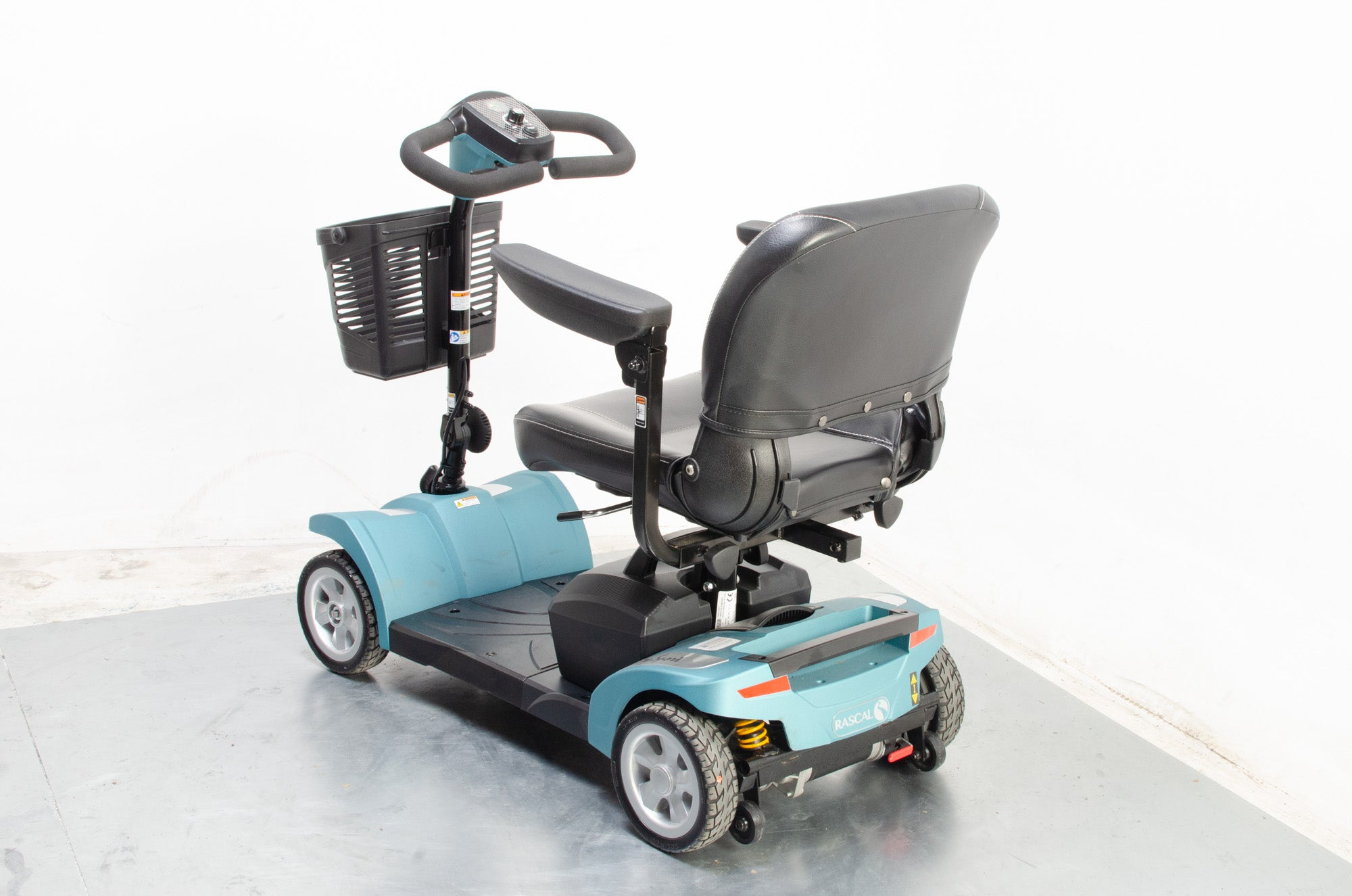 2019 Rascal Veo Sport Electric Mobility Scooter 4mph Small Transportable Teal