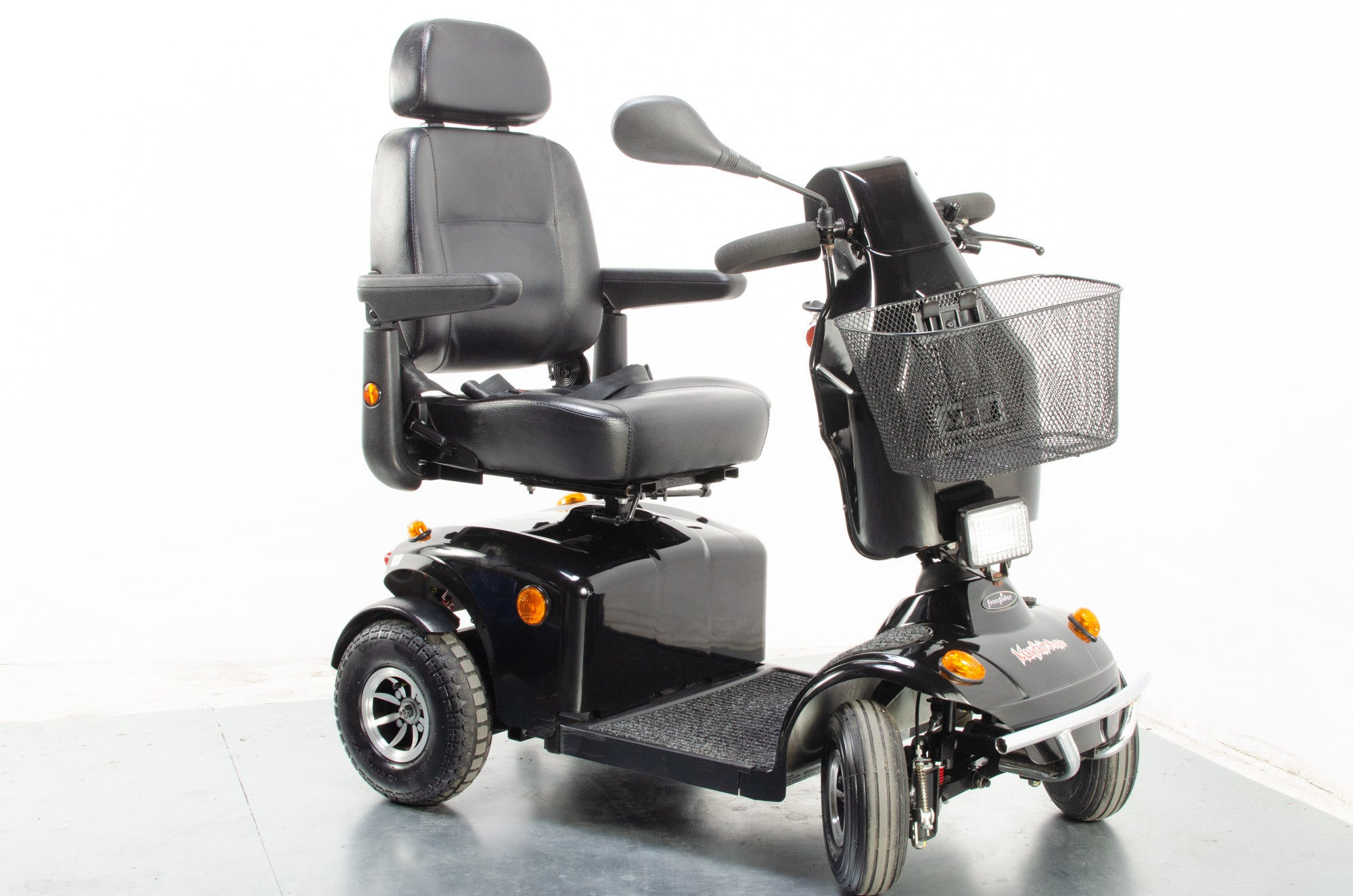 Freerider Mayfair Deluxe Used Electric Mobility Scooter 8mph Suspension Road Pneumatic