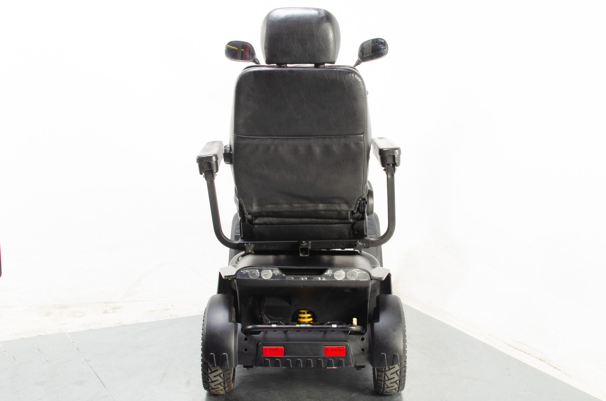 2017 Pride Colt Executive Electric Mobility Scooter 8mph Large All Terrain Black