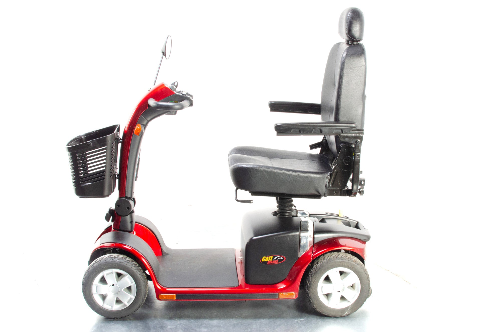 Pride Colt Deluxe Electric Mobility Scooter Used Transportable Folding 6mph Road Pavement